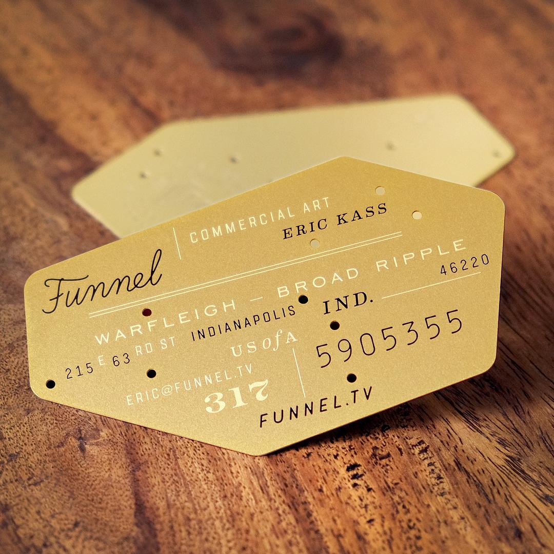 Funnel - Eric Kass Business Card
