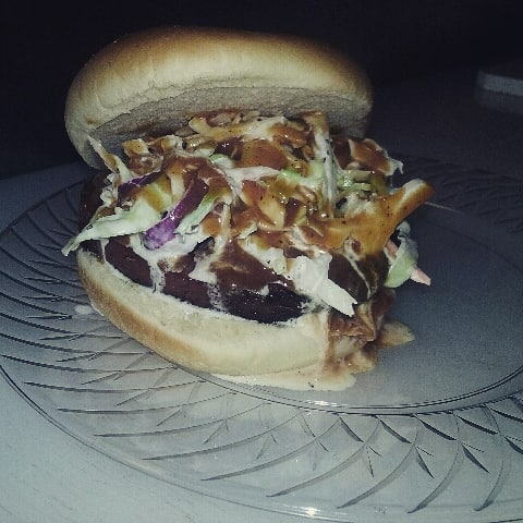Dont forget about the Big Dirty smoked bologna sandwich with slaw!  #shuglife #shugthepaintedchef #smokedbologna #Gata #bbq #statesboro #register #foodie #bbqfood