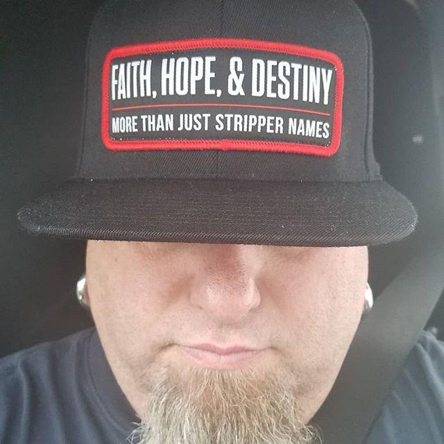 Faith, Hope, & Destiny @_chris_osman_designs