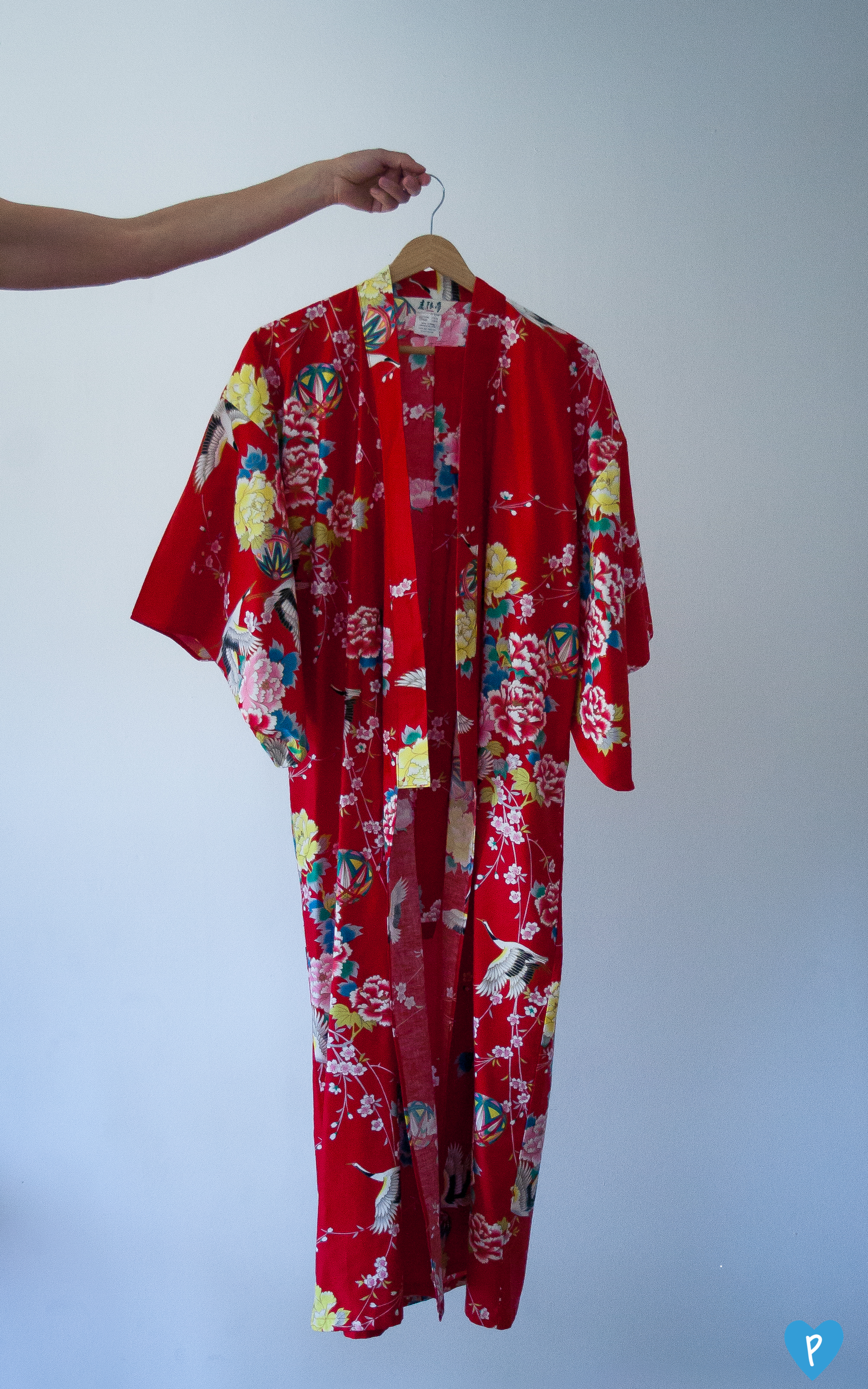 Cotton robe options.