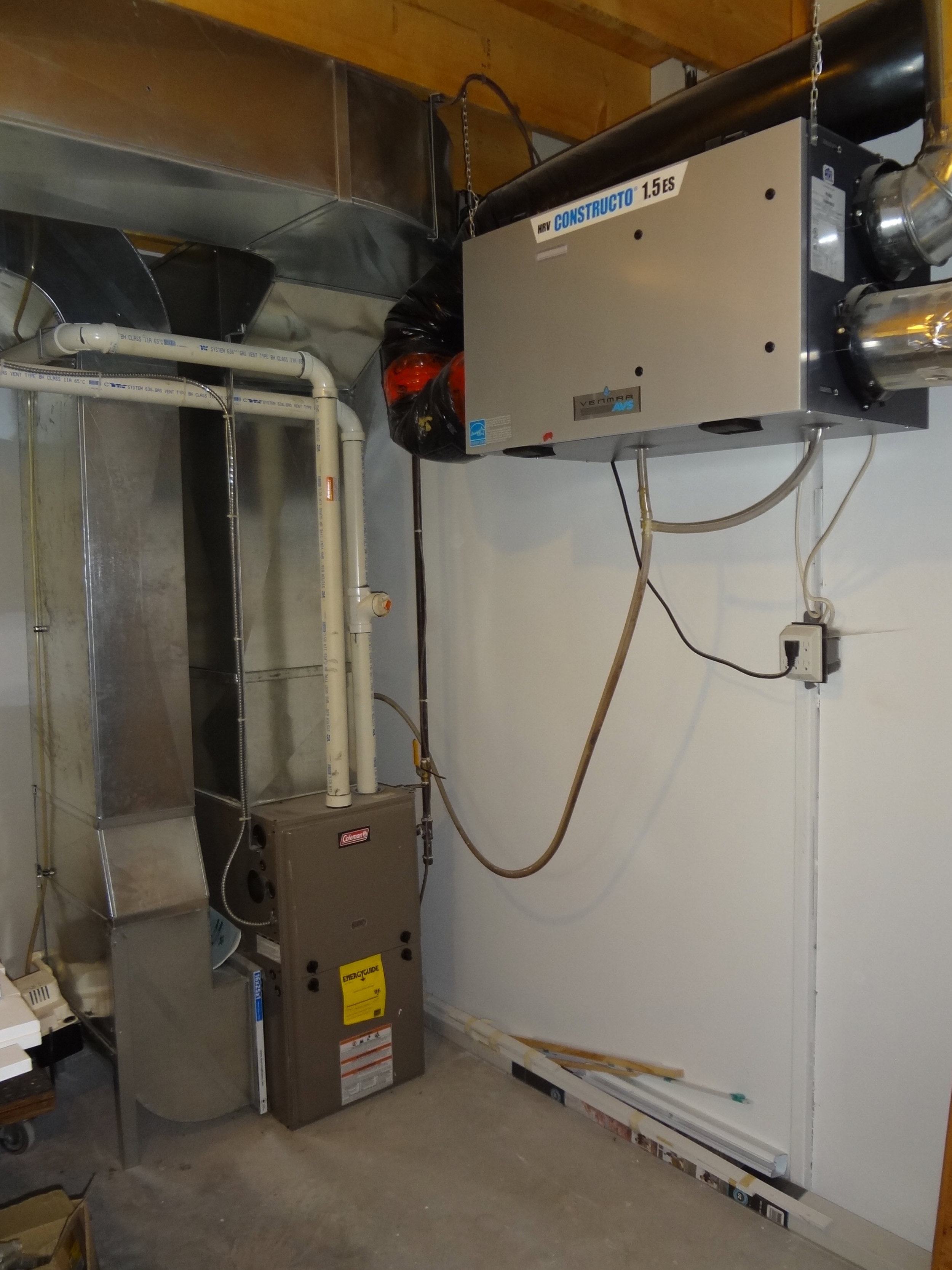 Forced Air Furnace & Heat Recovery