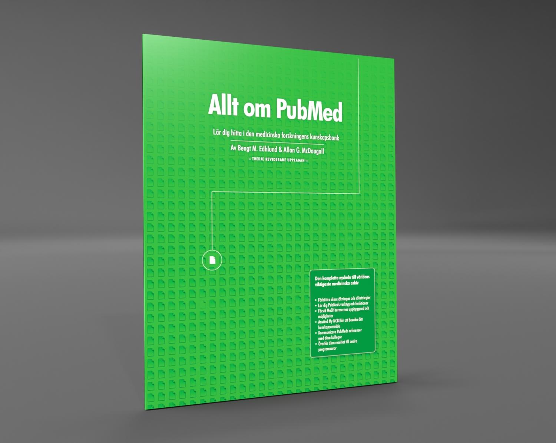Boken beskriver steg för steg hur du tar dig vidare från grunderna i PubMed till de mera avancerade funktionerna och alla de verktyg och hjälpmedel som finns.