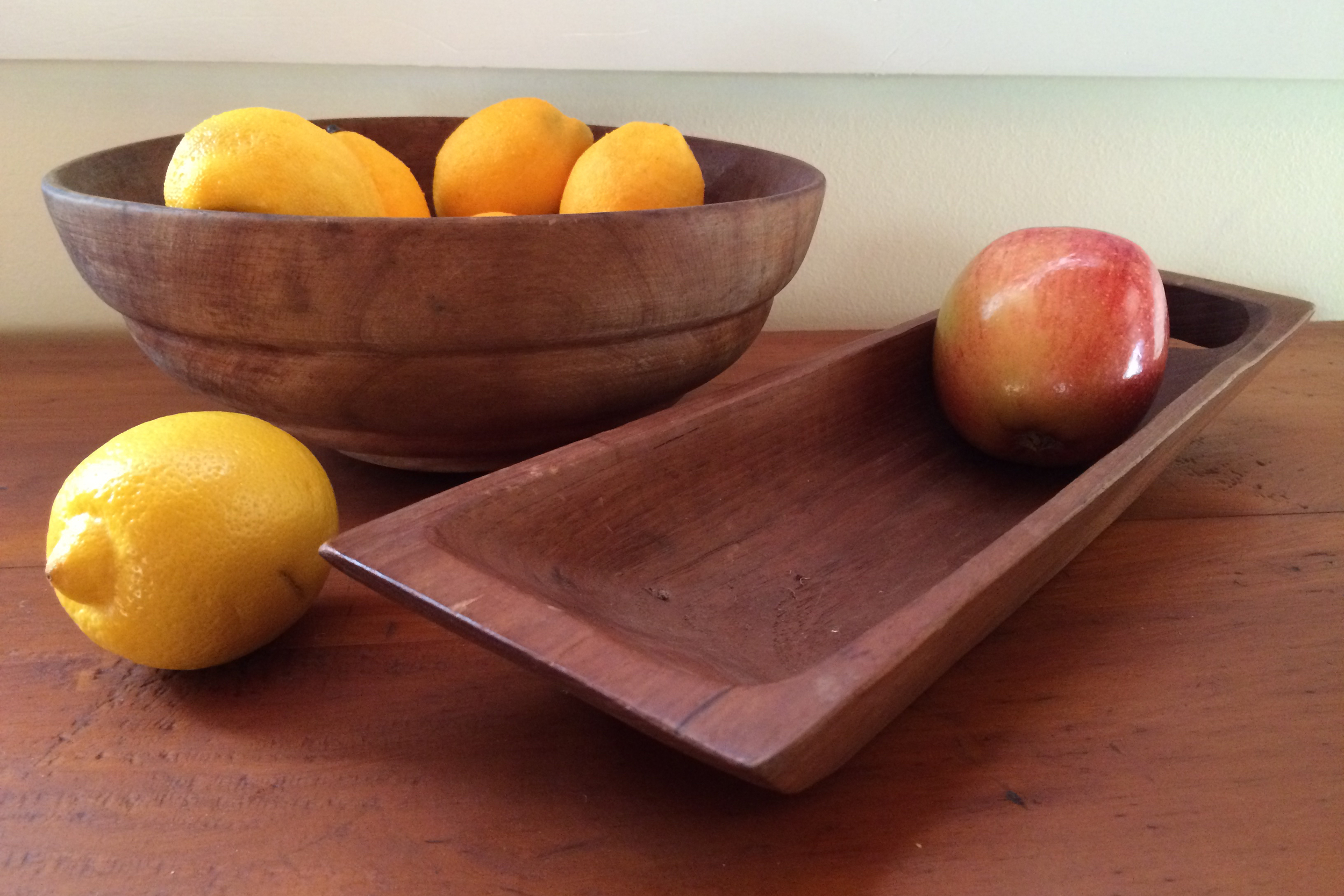 Happy to be adding these to my collection of wooden bowls.
