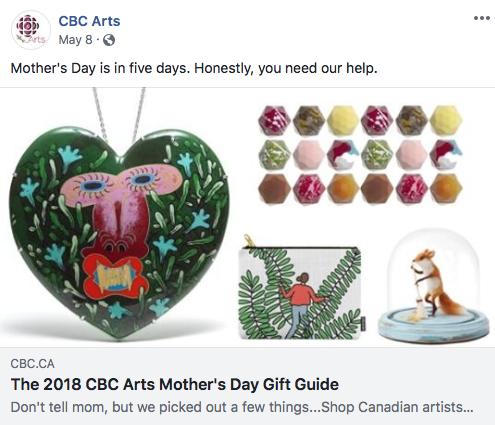 CBC Arts  | May 8, 2018