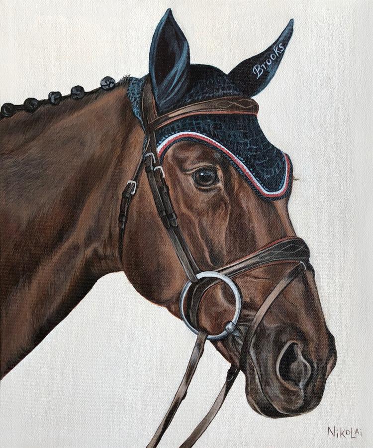 FERNET VM  | Acrylic on gallery style canvas, 10 x 12 | Ottawa, ON | SOLD