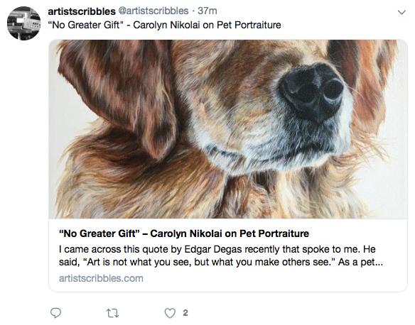 @artistscribbles  | February 3, 2019