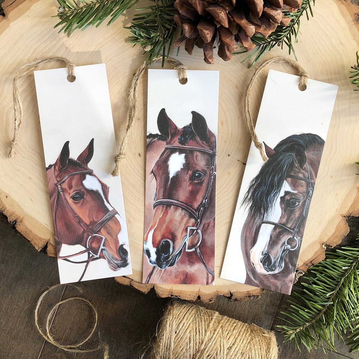 Winter Pony Bookmarks