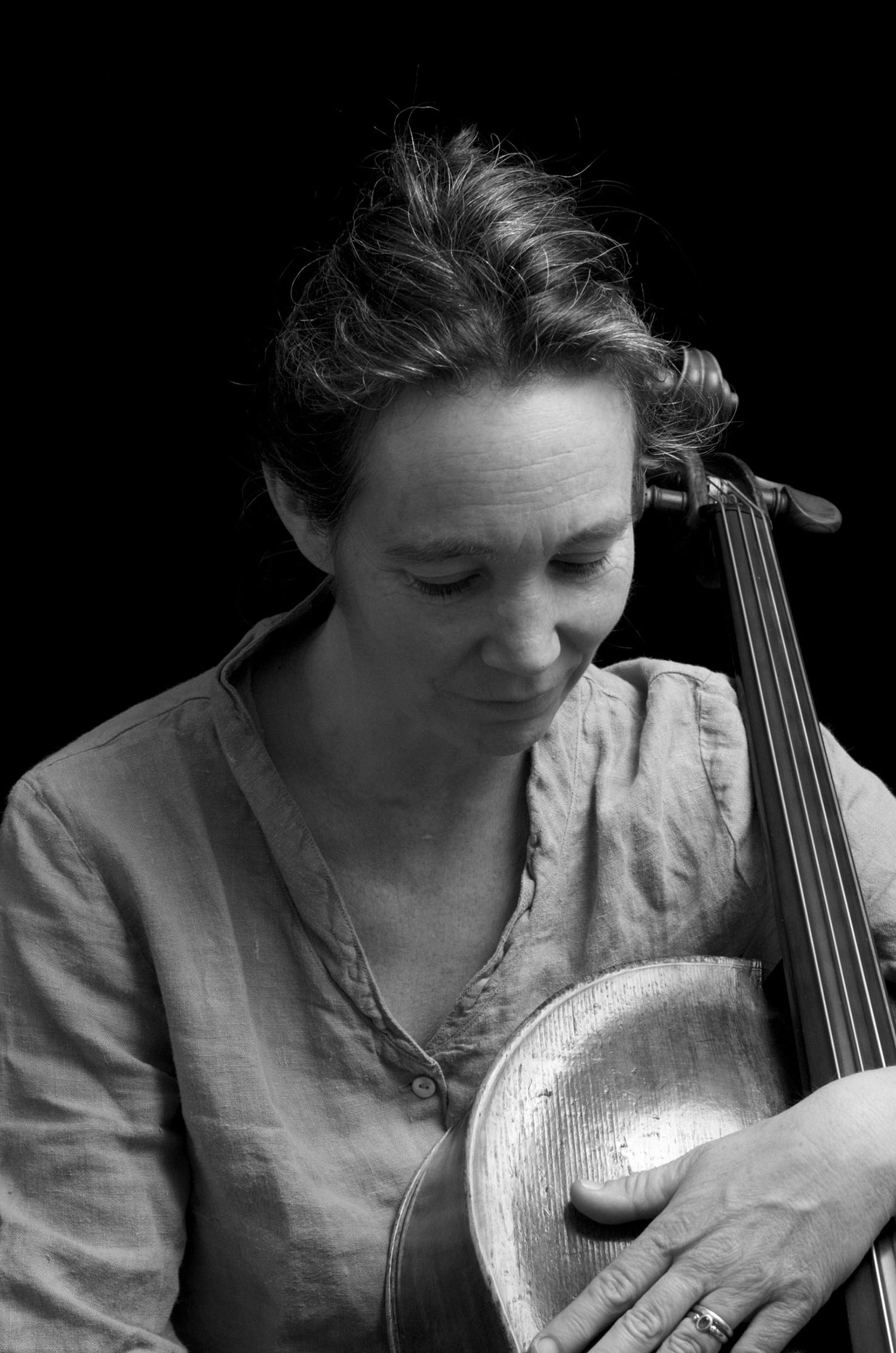 Ruth Phillips, cellist, writer. March 18, 2013.