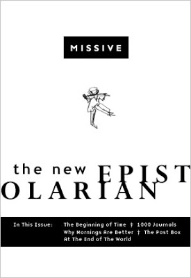 Covers for Imaginary Books: Missive: The New Epistolarian (A Journal).