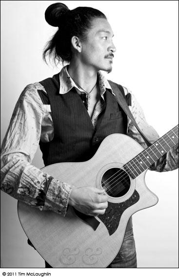 Buckman Coe. Musician and Composer. Taken April 13, 2011.