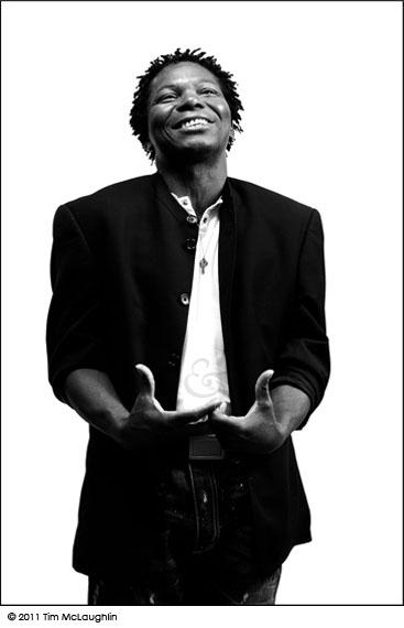Jean Pierre Makosso. Actor, performer and storyteller. Taken September 21, 2011