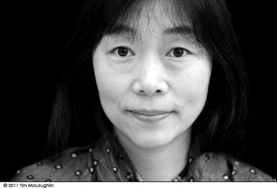 Yukiko Blackwell. Katazome Artist. Taken October 11, 2011