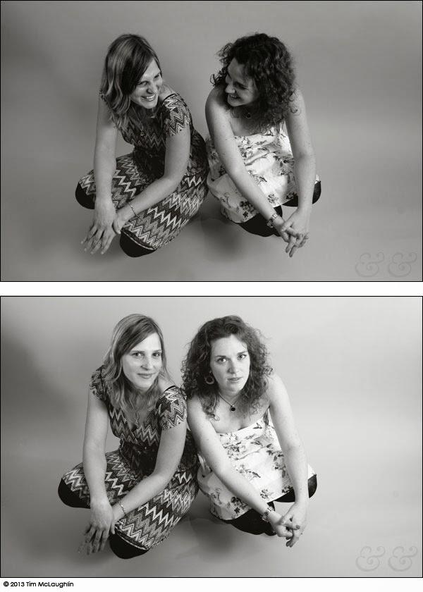 Cloe Aigner and Jocelyn Hallett, creatives, taken February 22, 2013