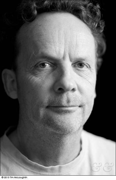 Julian Merrow-Smith, artist. Taken March 18, 2013.