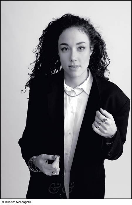 Sophia Danai, singer, taken January 24, 2013