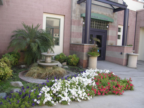 Irving Rector Memorial Garden