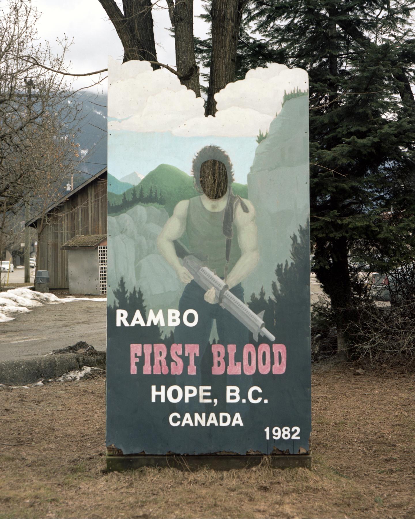 First Blood Photo Cutout