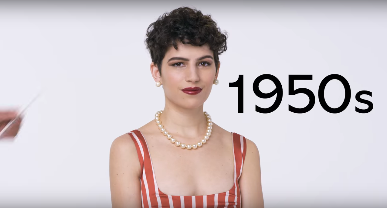 100 Years of Short Hair  | Allure, 2018