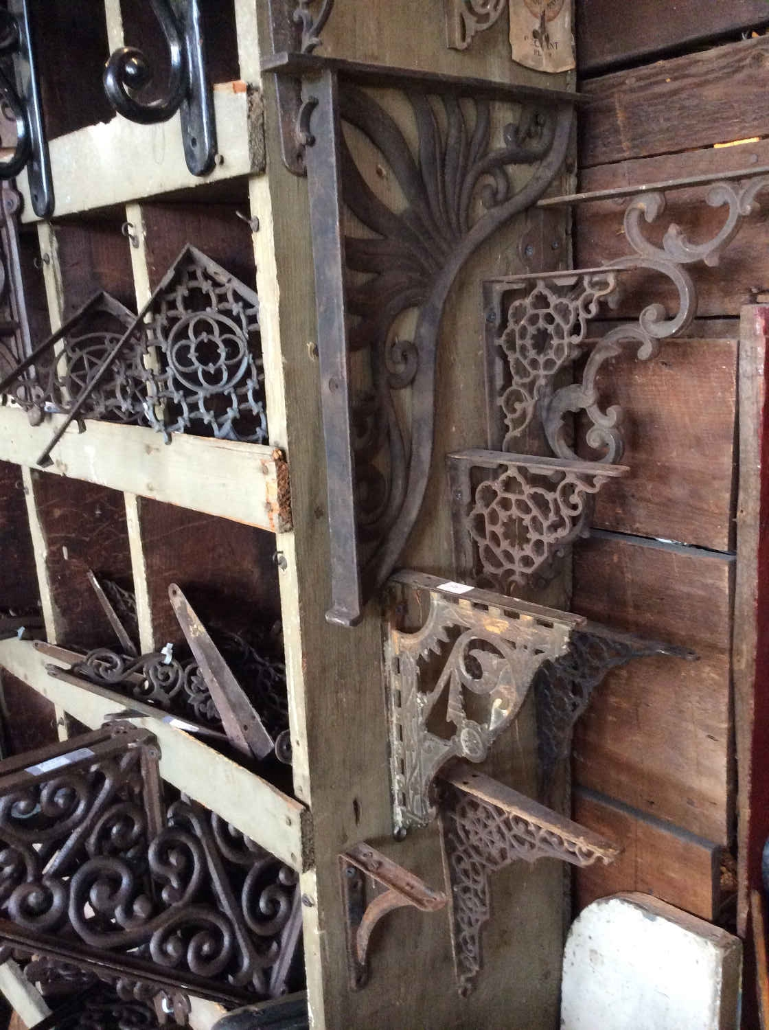 Antique & Modern Shelf Brackets