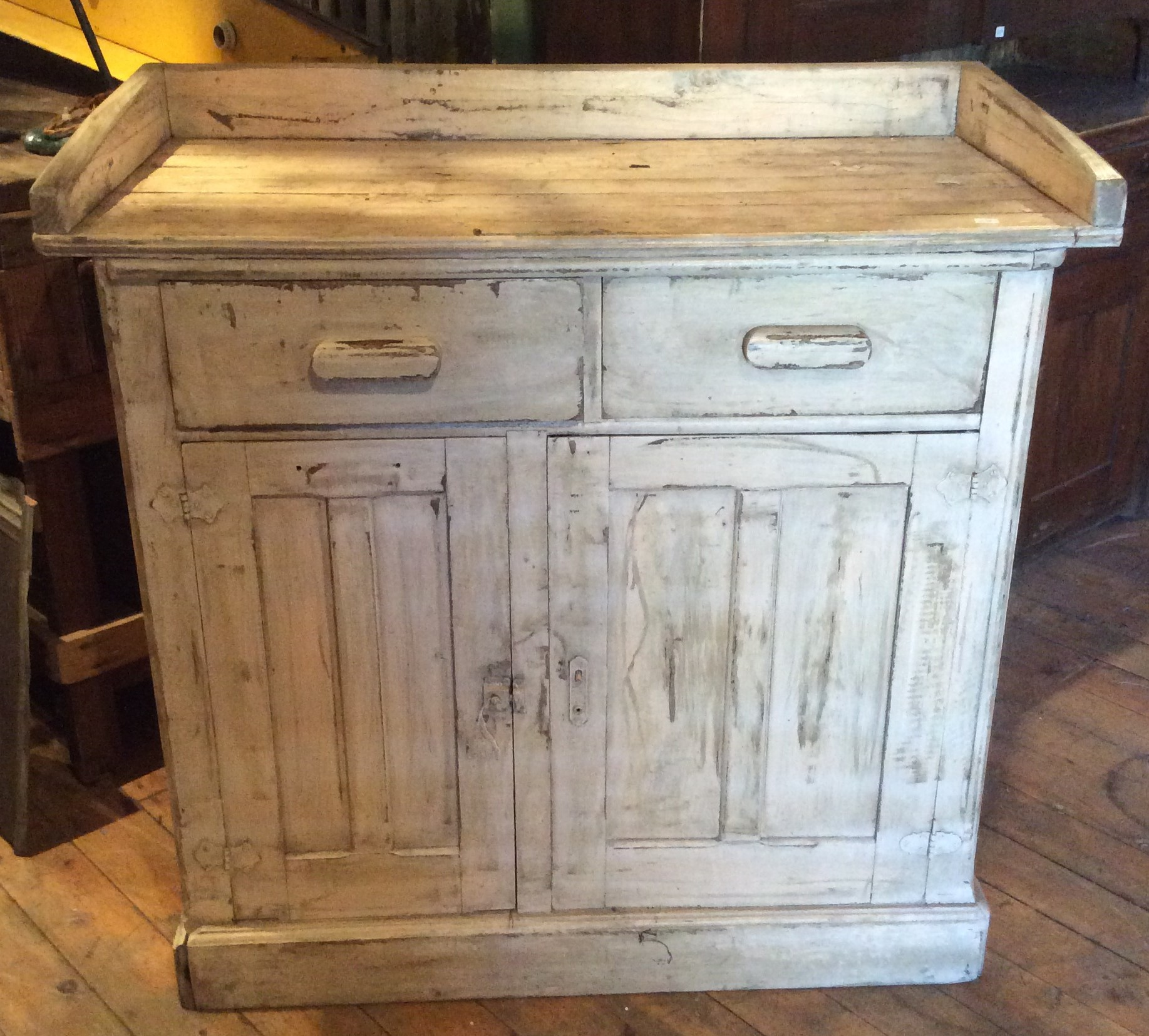 Antique Small painted Sideboard