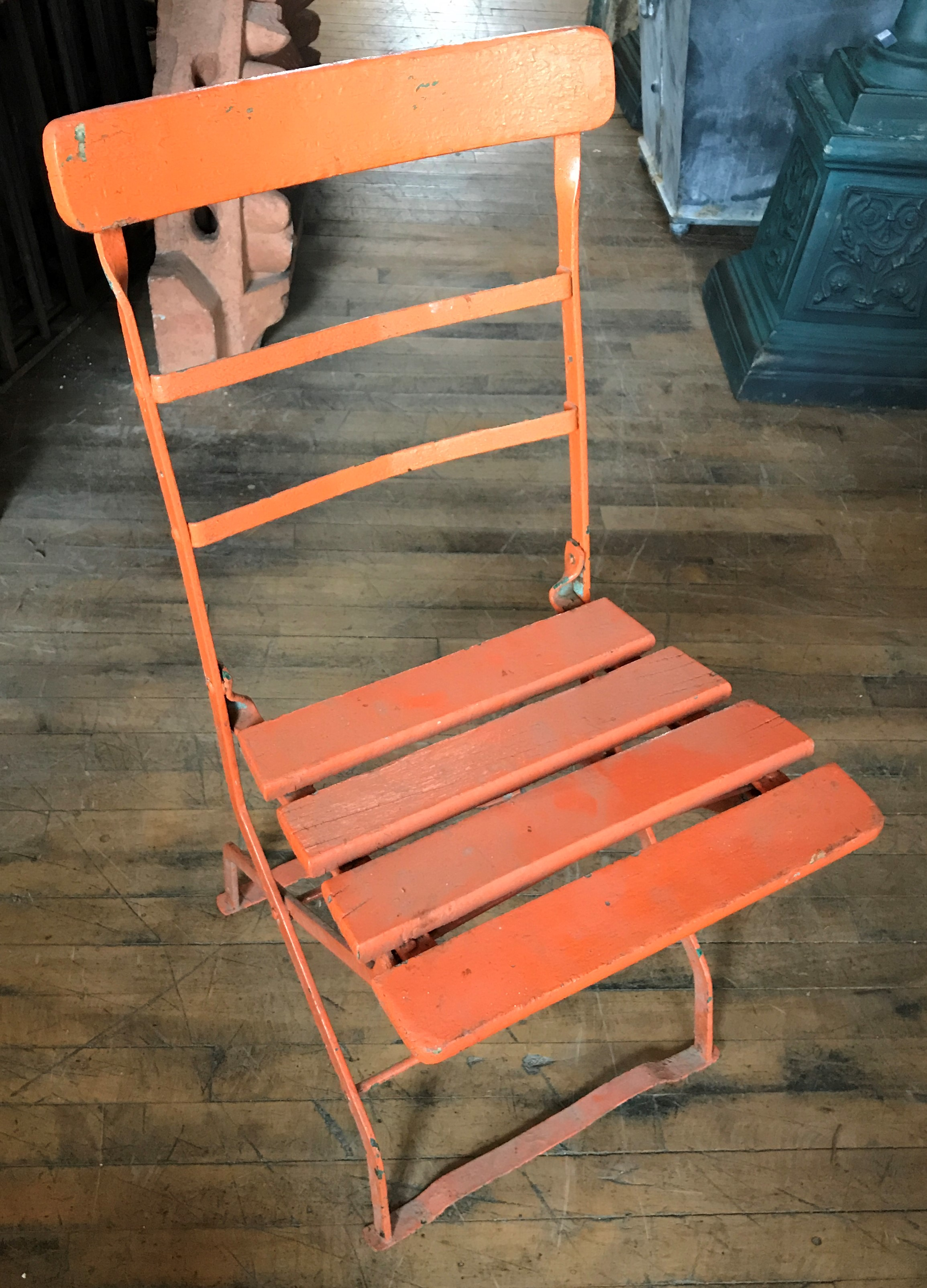 Antique French Bistro Chairs