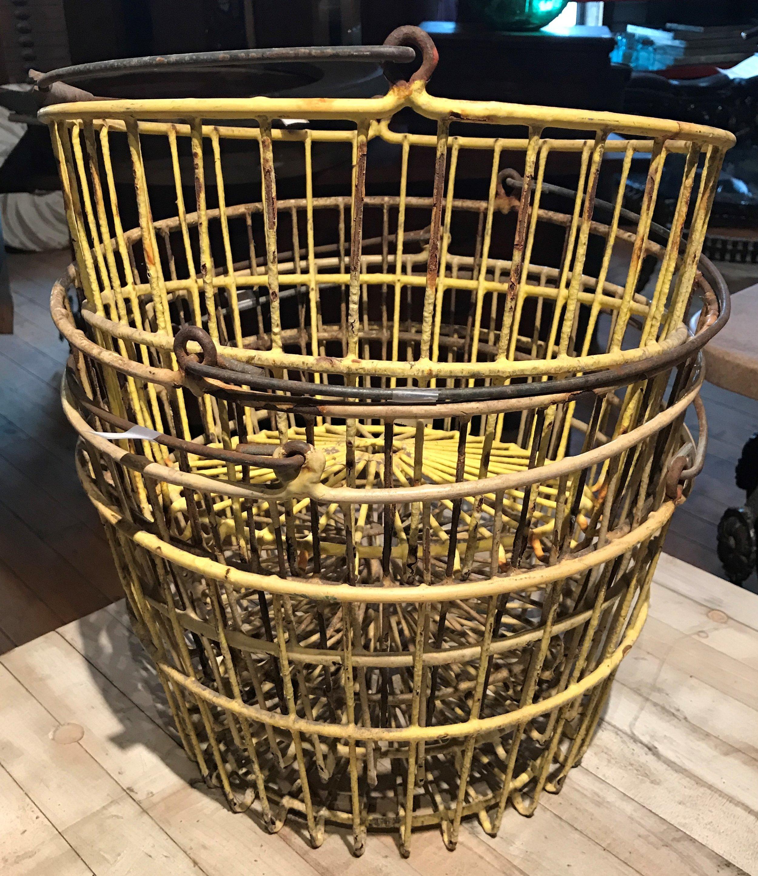 Vintage Clam Baskets
