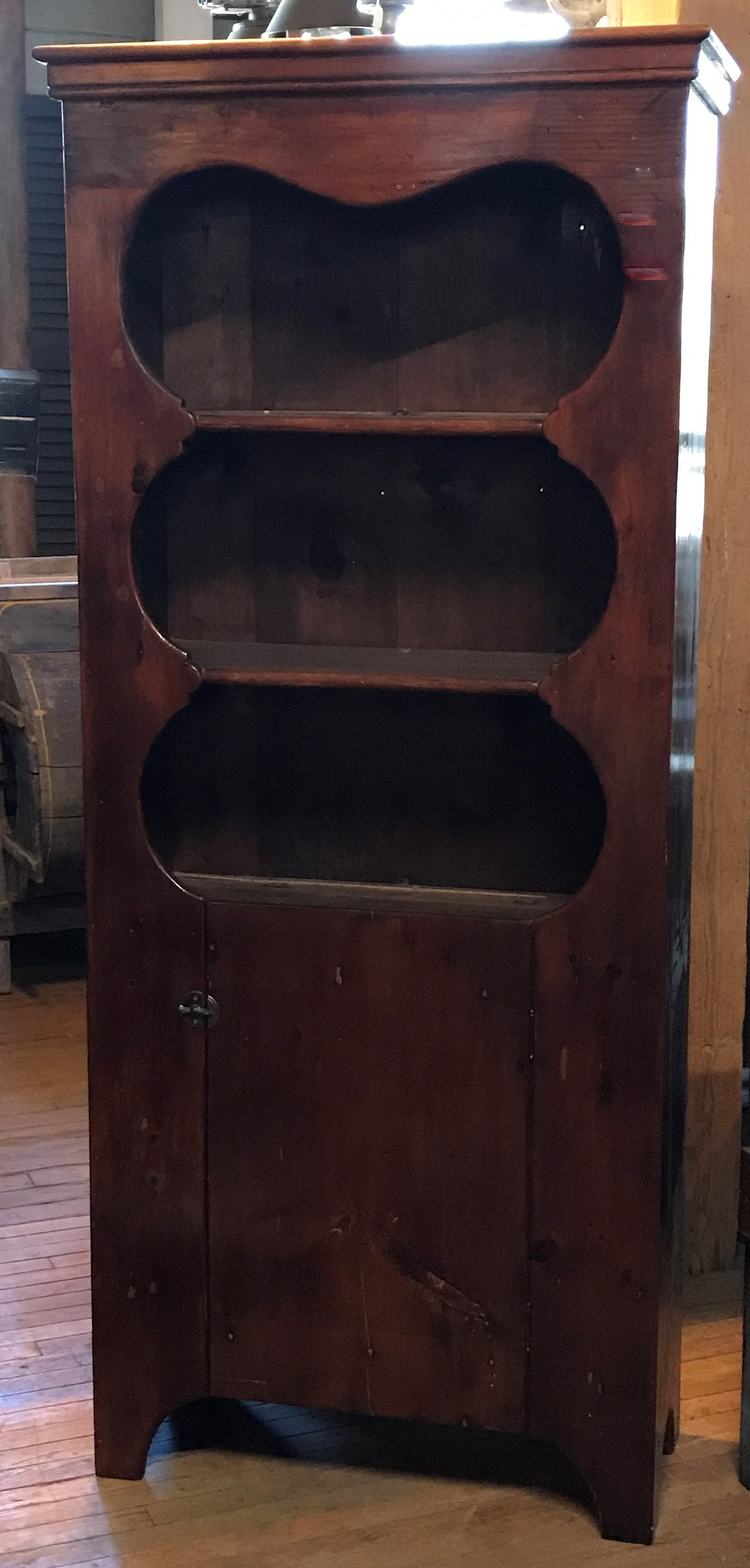 Early Country Pine Cupboard