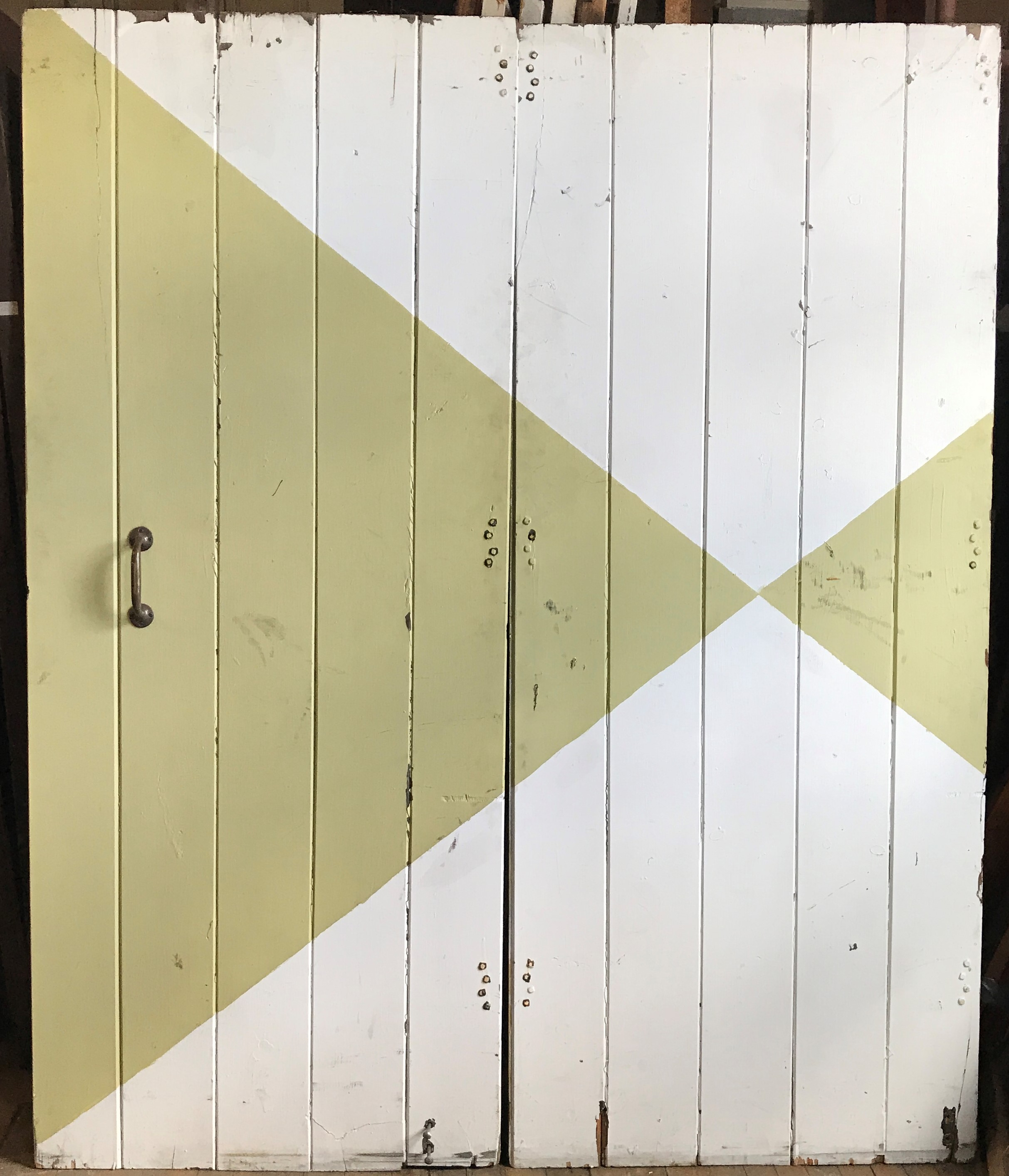 "Pair ""V Match"" Barn or Shed Doors"