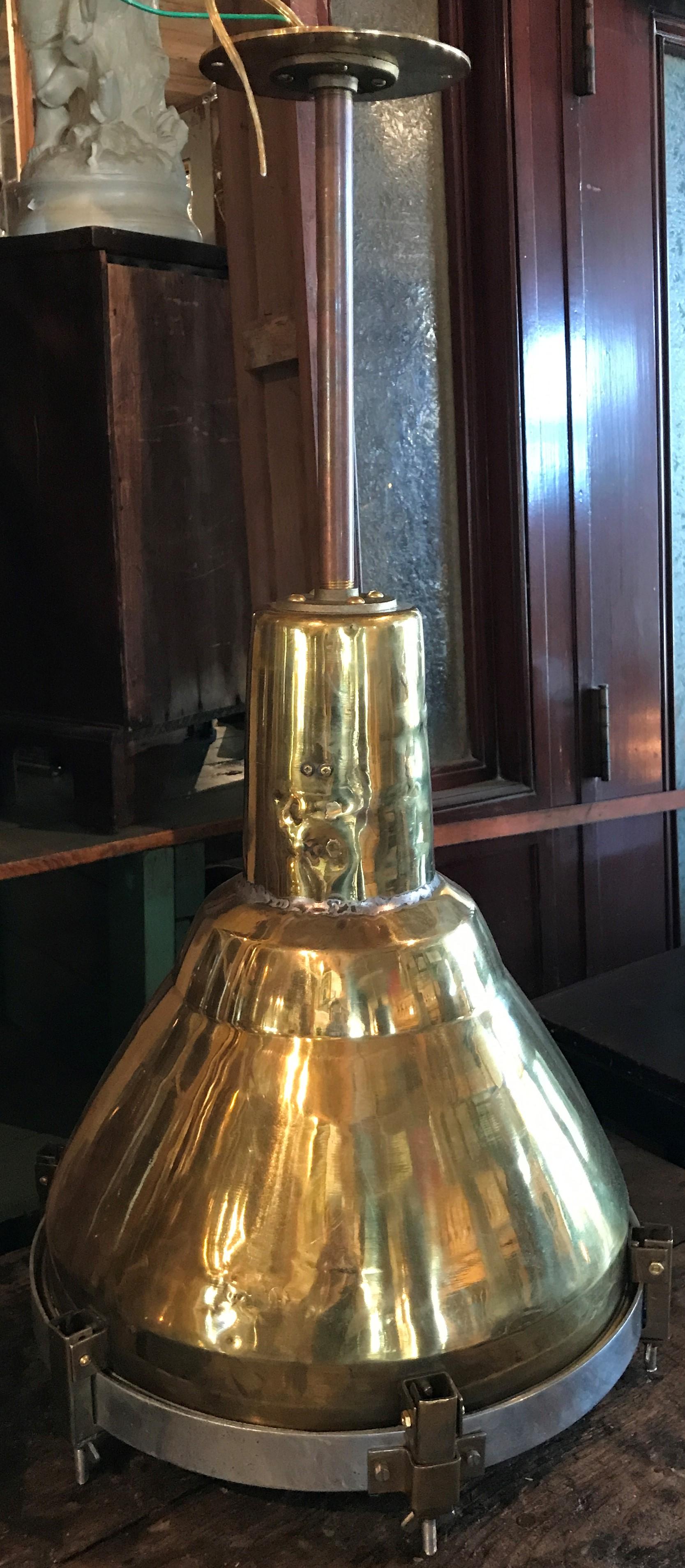 """Brass Nautical """"Fox Light"""""""
