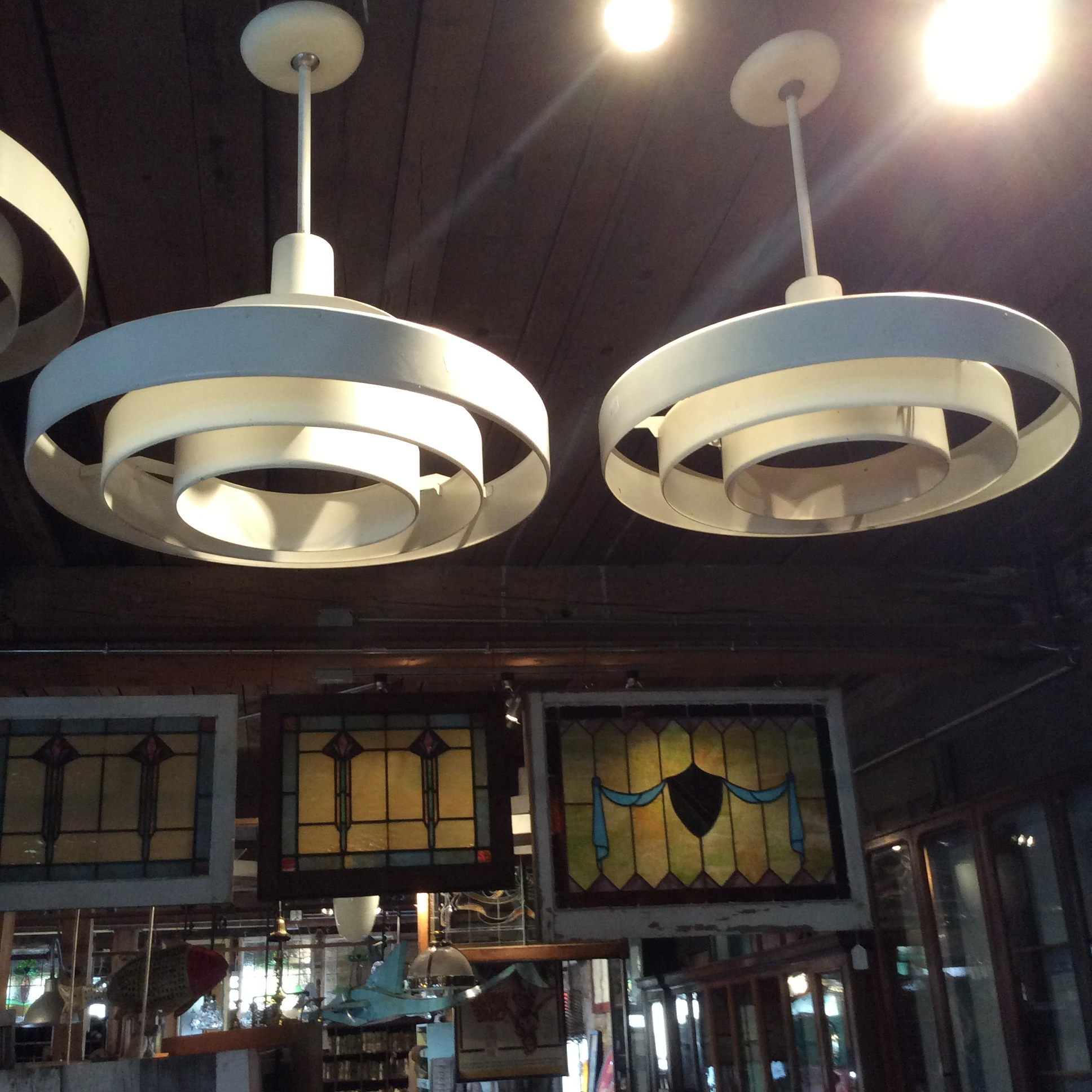 Mid Century Ring lights