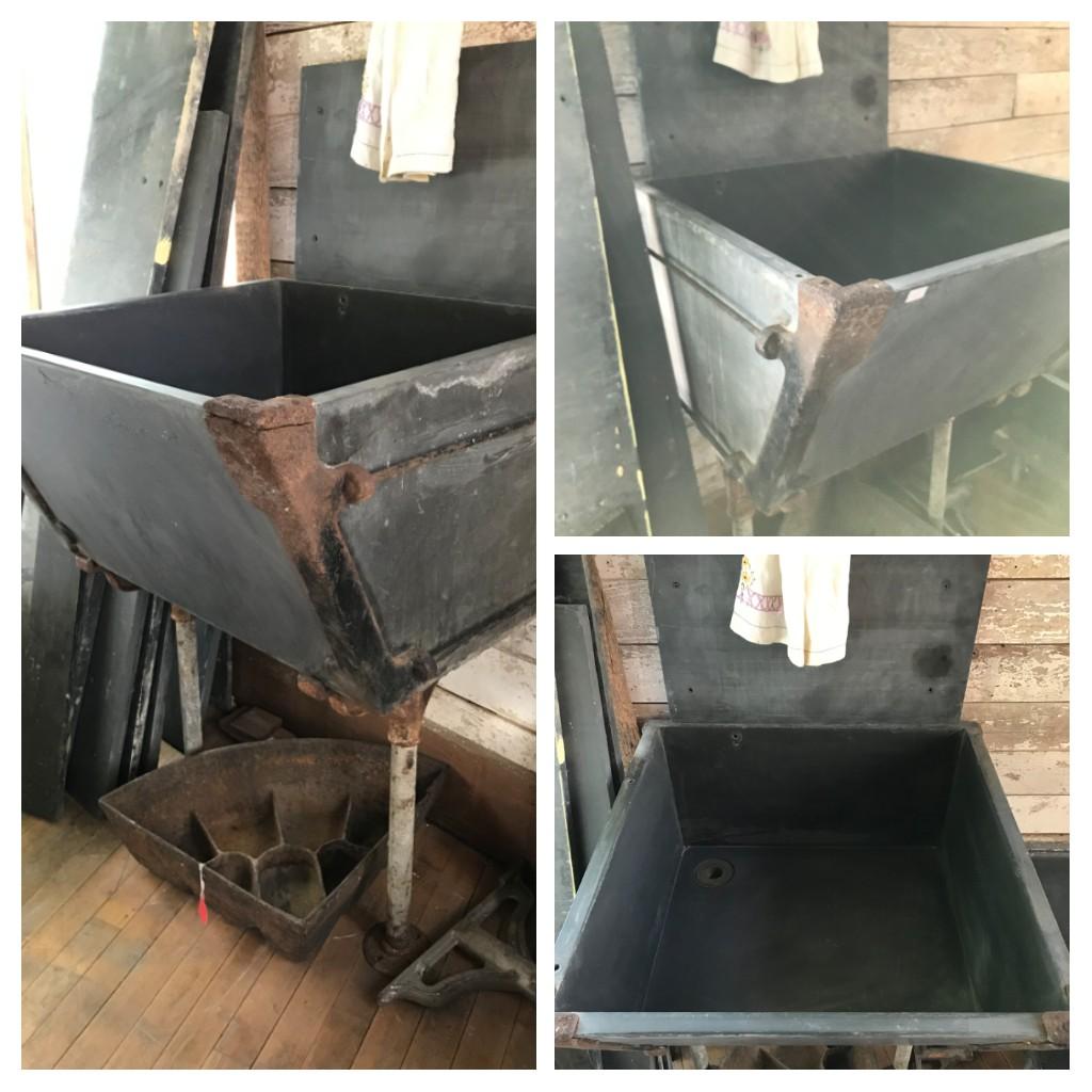 Antique Deep Slate Sink