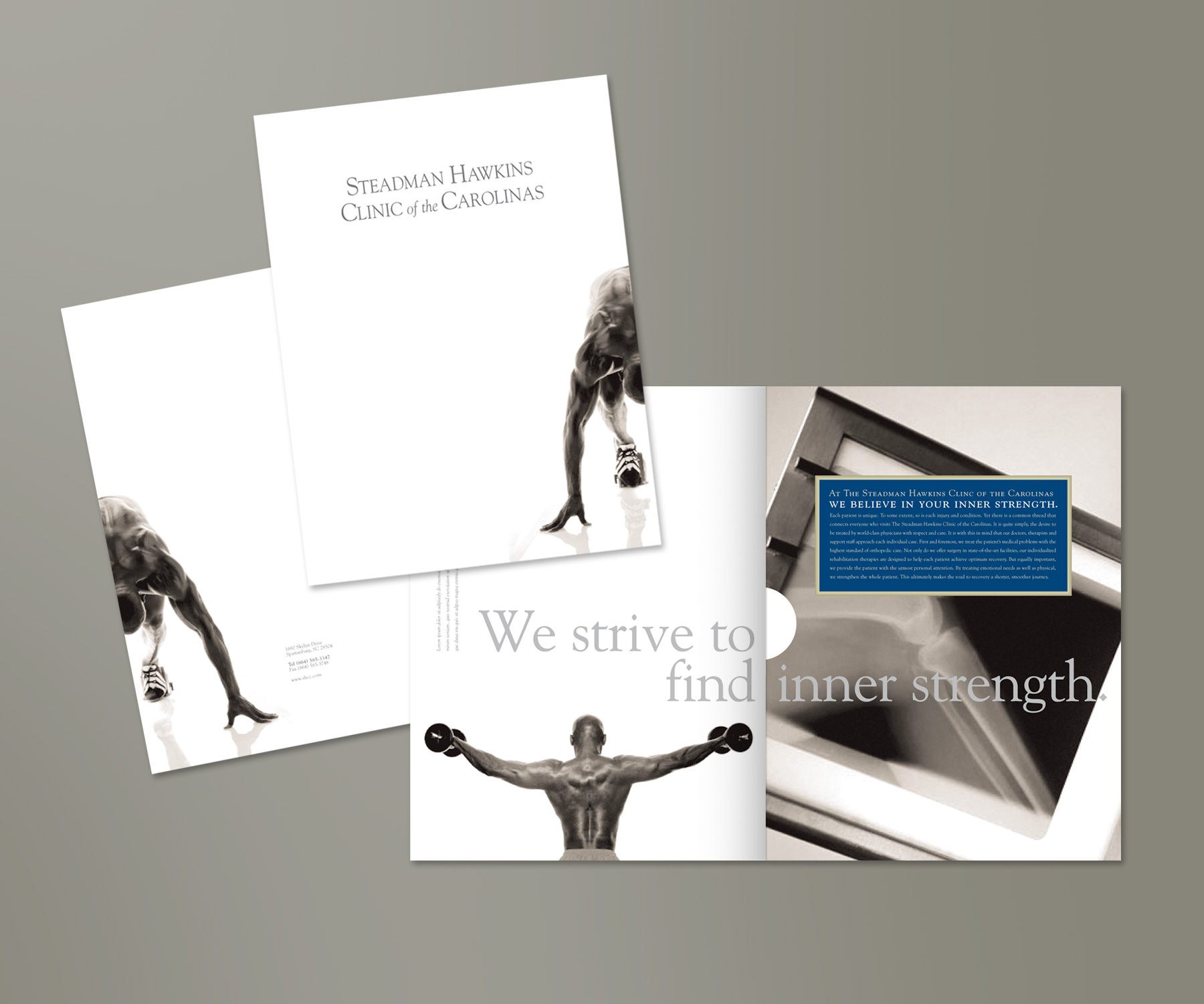 Steadman Hawkins Clinic  / Marketing Brochure