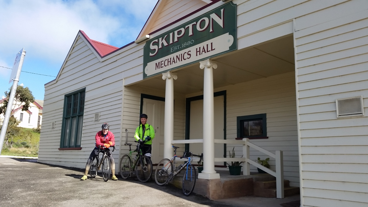 Ballarat Skipton rail trail