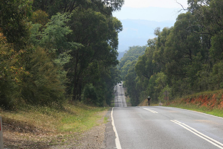 kinglake healesville road cycle touring