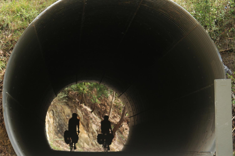 lilydale warburton rail trail tunnel bikepacking