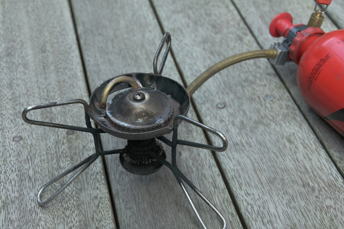 MSR whisperlite multi-fuel stove