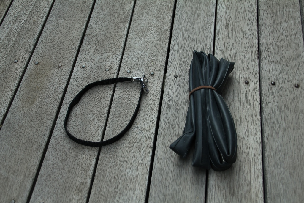 toe strap inner tube bikepacking