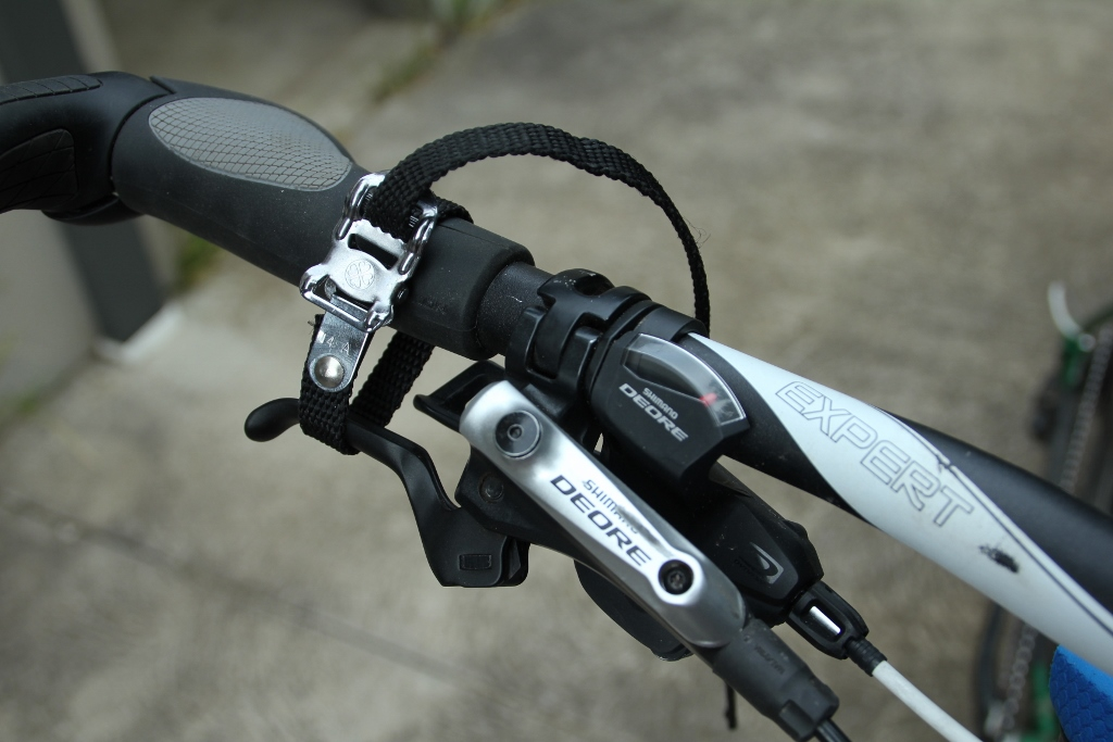bikepacking toe strap uses