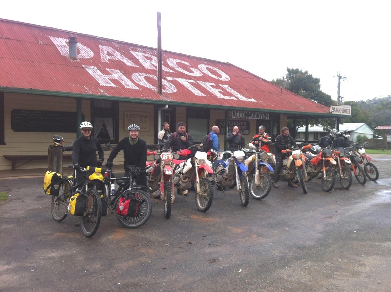 Dargo victoria bicycle touring