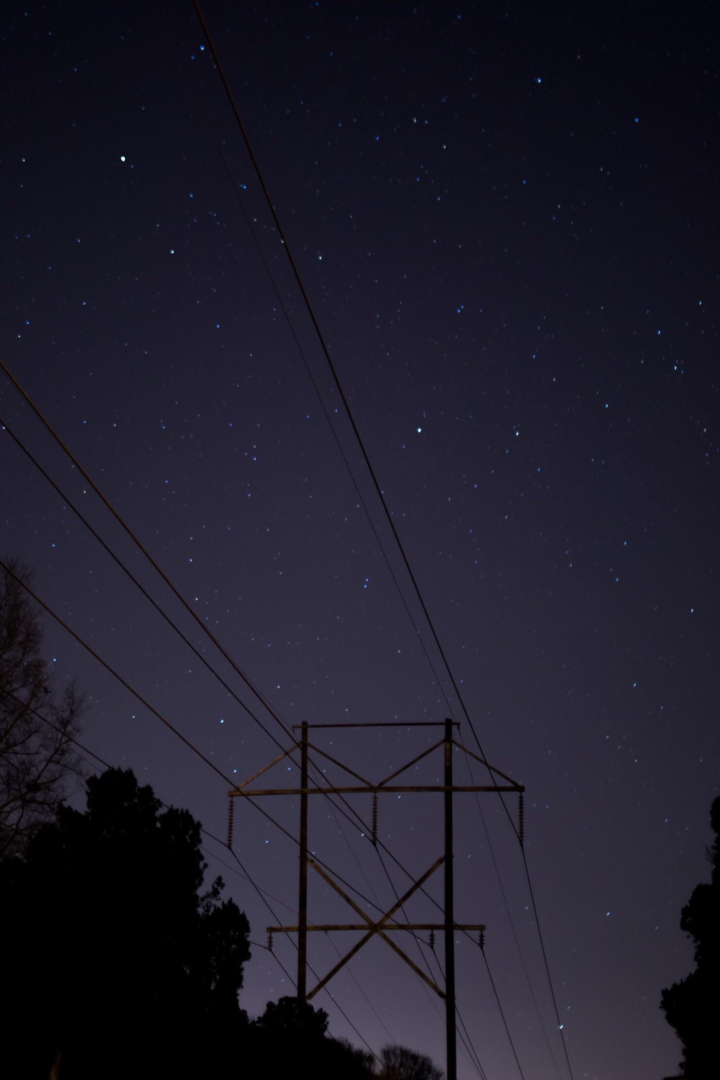 f/1.8, 30 second exposure