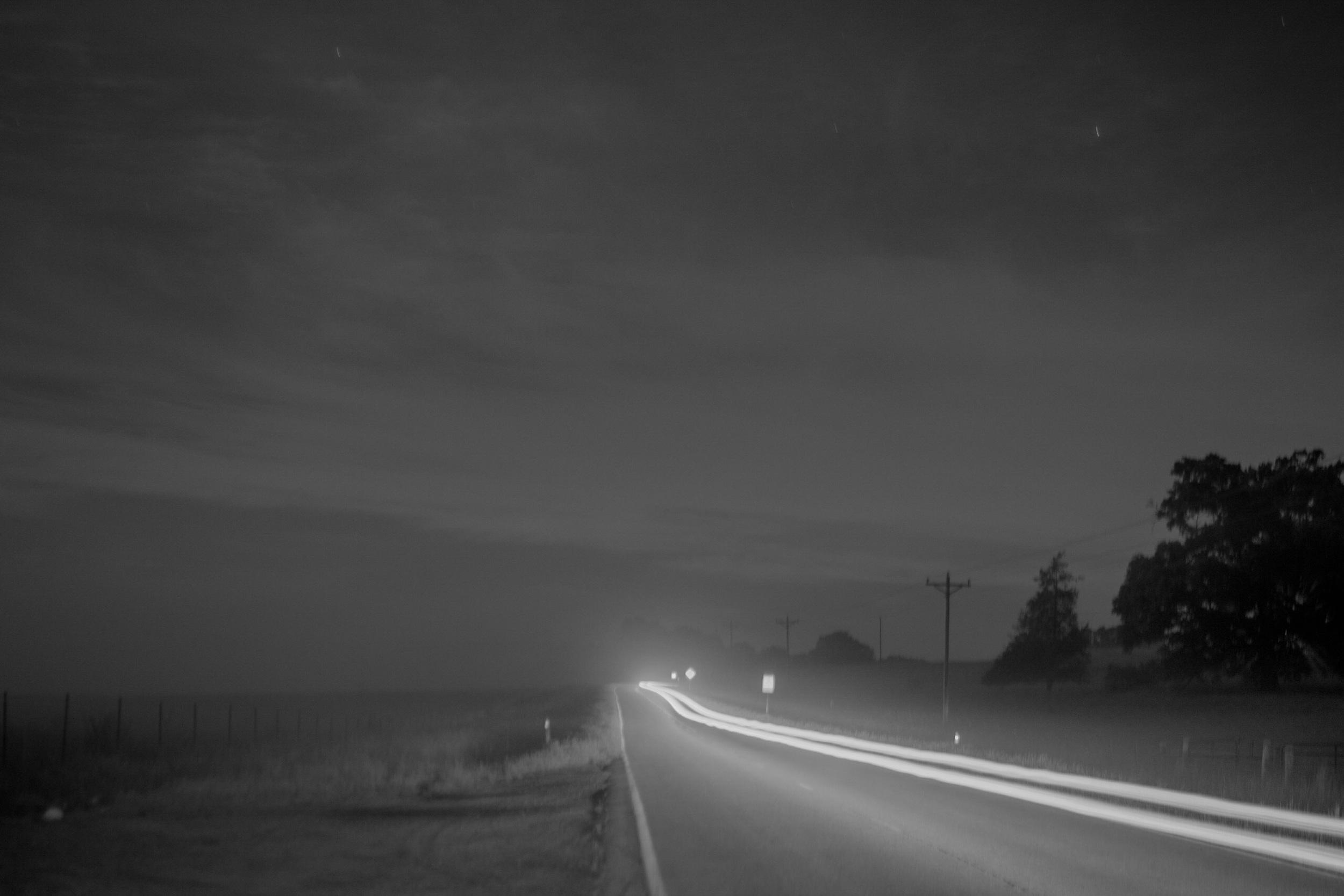 "35mm, f/1.8, 25"" exposure @ some field up past watkinsville"
