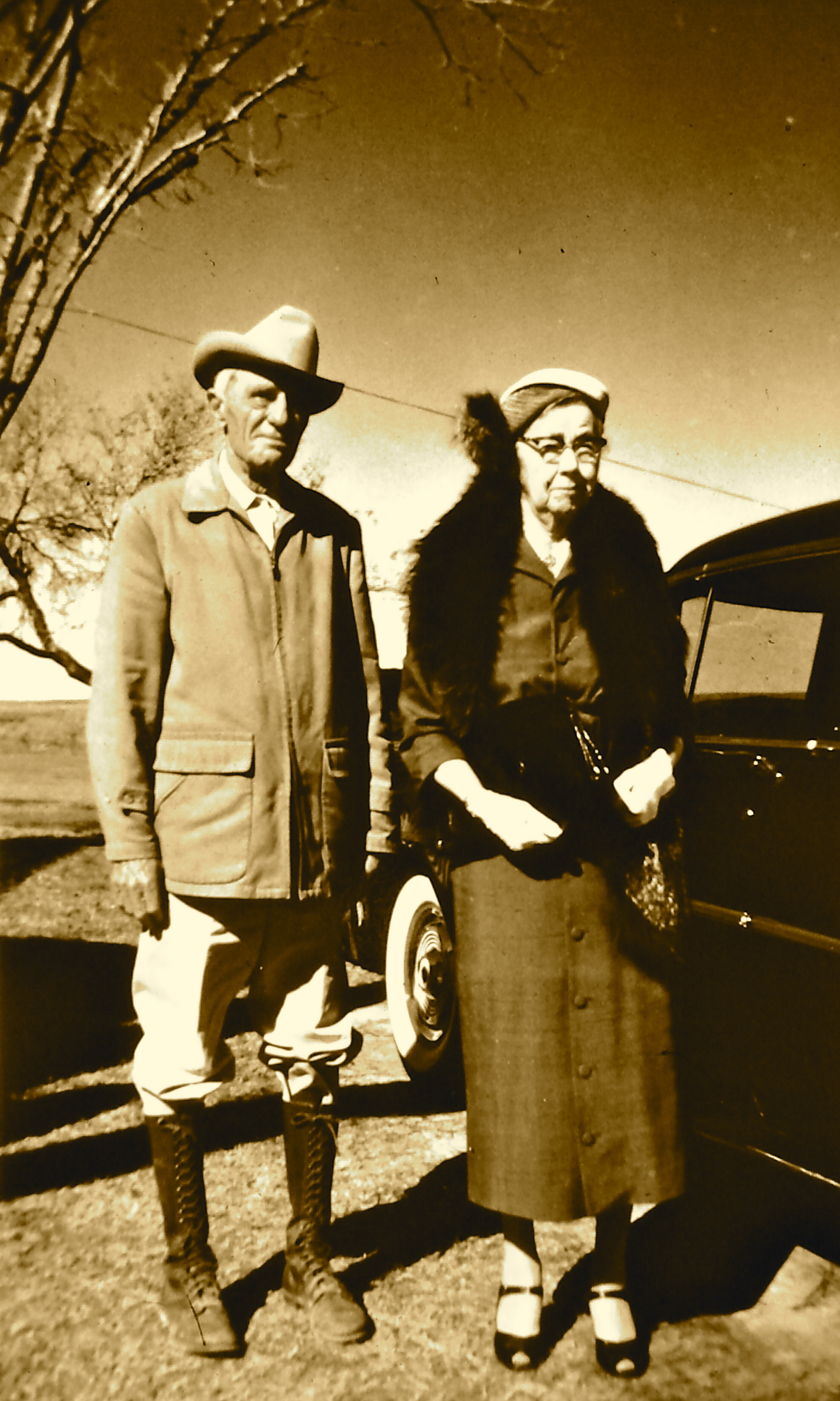 Mr. & Mrs. Demrie Miller – who left the land for Zephyr to FBC Mathis.