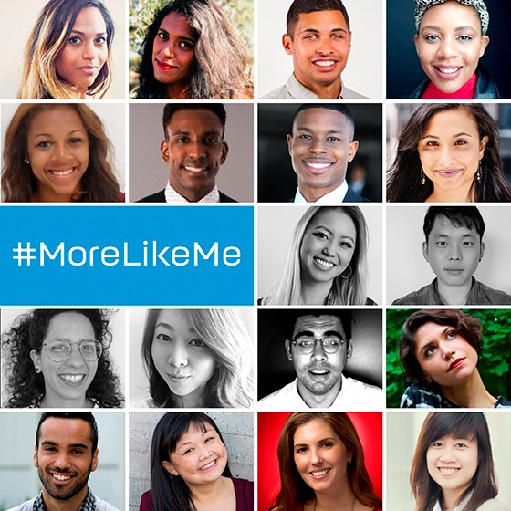 In June 2018, HP sent 18 advertising professionals to the Cannes Lions International Festival of Creativity as part of its inaugural More Like Me program. Sponsored by 4A's MAIP and Facebook, Jezz was selected to participate in a specially curated program focusing on career advancement and using voices to create change in the industry.   https://www.thedrum.com/news/2018/05/30/hp-data-shows-diversity-makes-good-business-sense-and-backs-it-up-with-morelikeme