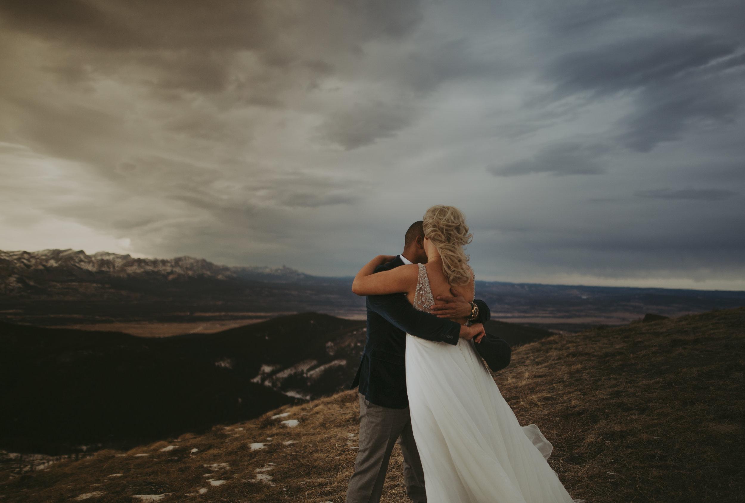 Helicopter Wedding, Banff Heli Wedding Photographers, Destination Wedding Photography, Best Destination Elopement Photographers, Adventure Elopement Weddings