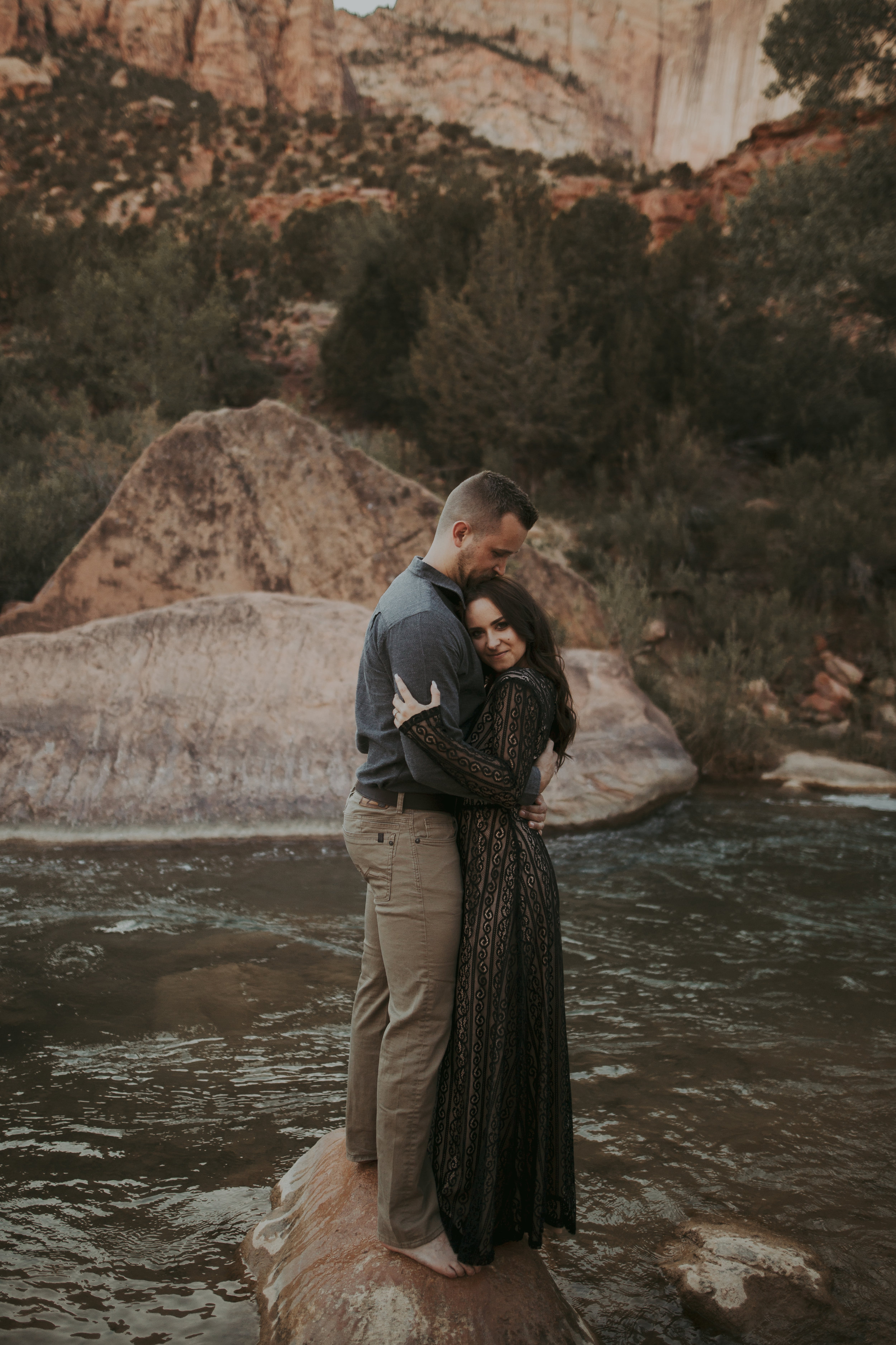 Calgary Engagement Photographers - Banff Canmore Couples Session Mountains