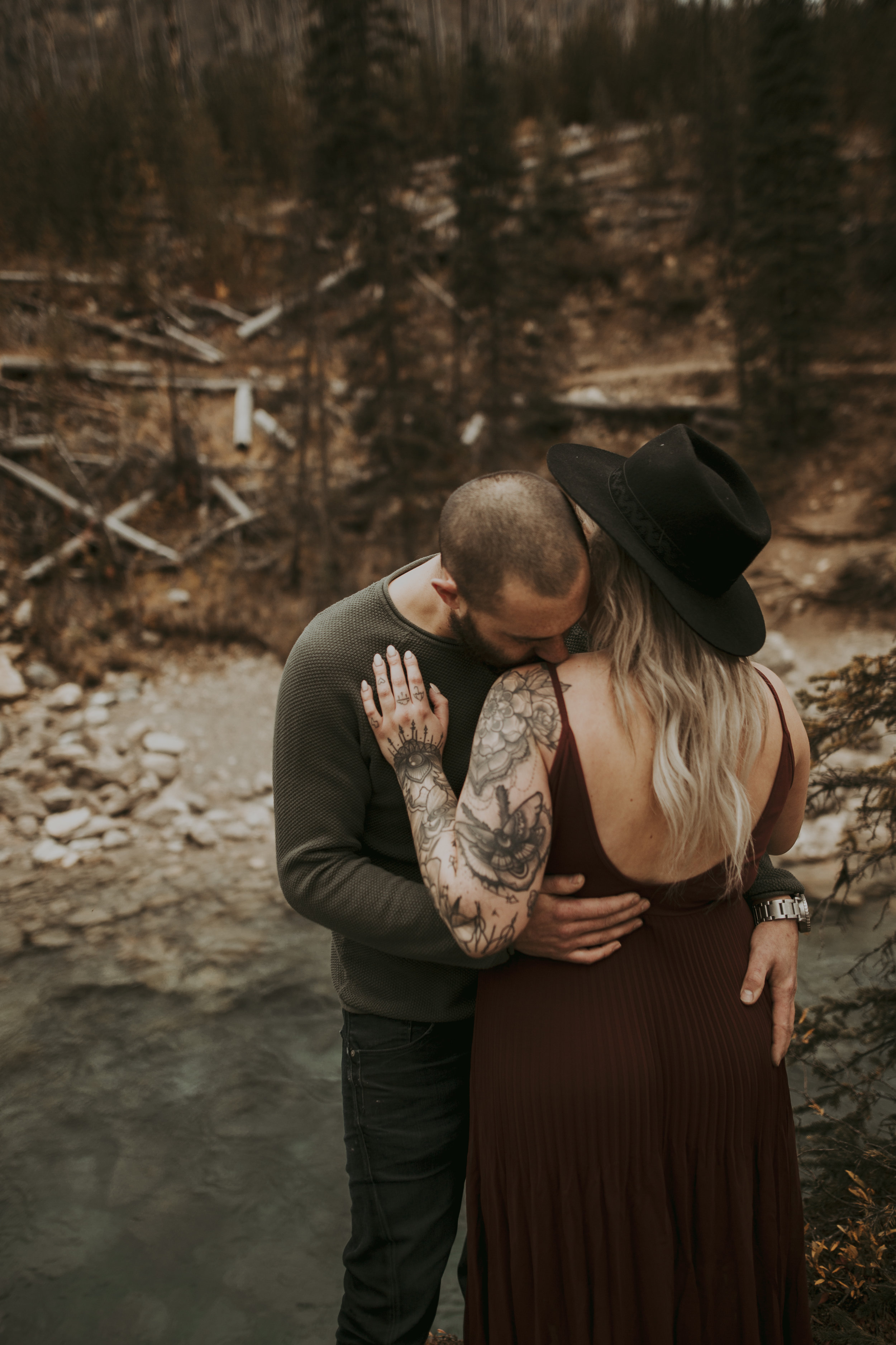 Best Banff Couples Engagement Photographer - Canmore Couples Photography