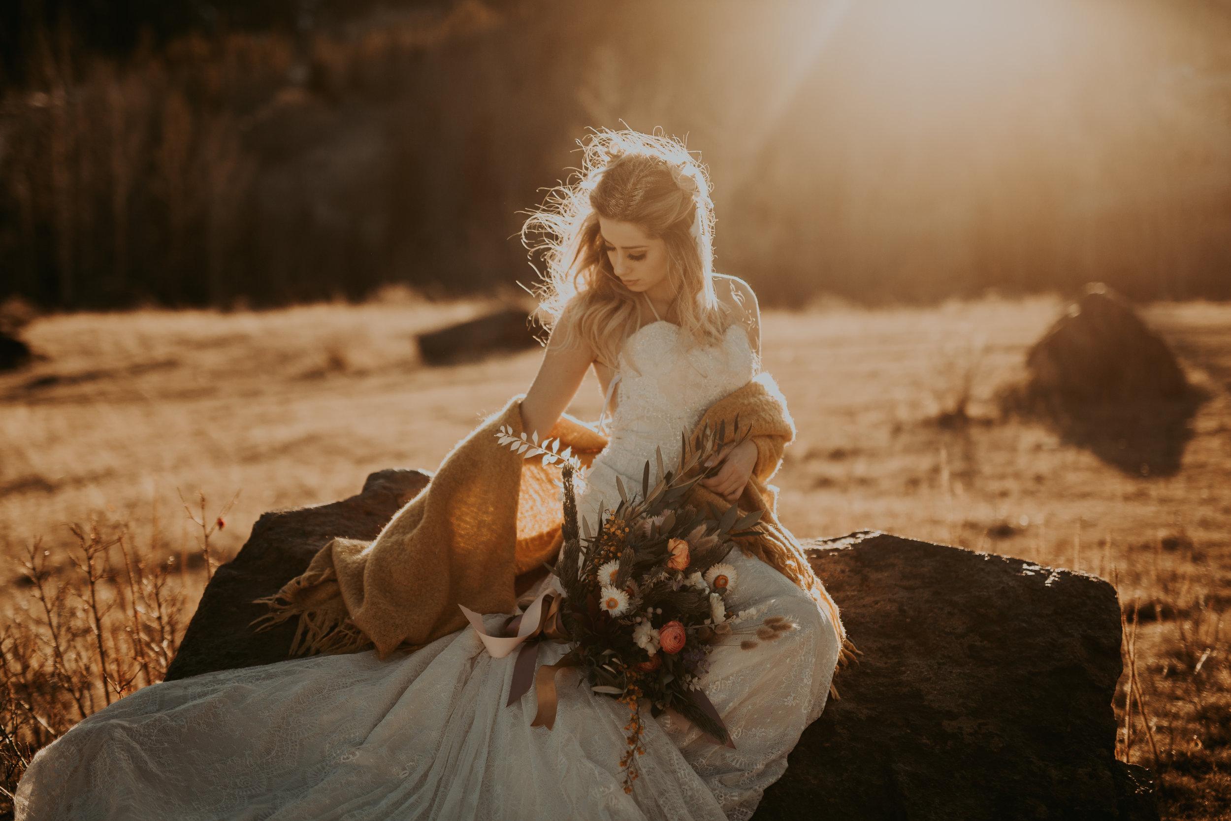Boho Bride Inspiration Banff Canmore Photoraphers