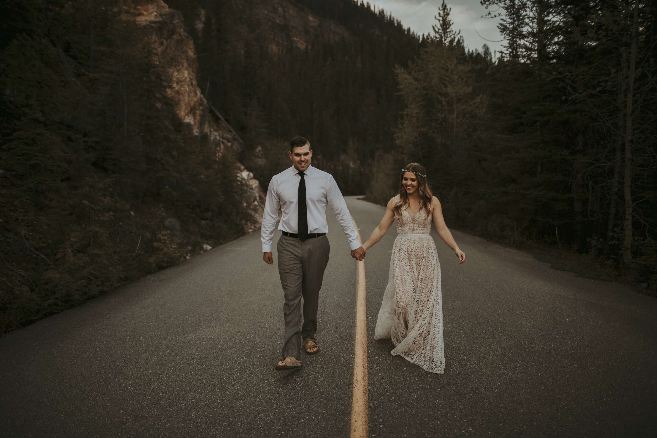 Emerald Lake Elopement, Emerald Lake Lodge Photographer, Banff Elopement Photographer, Banff Photographer, Banff Elopement