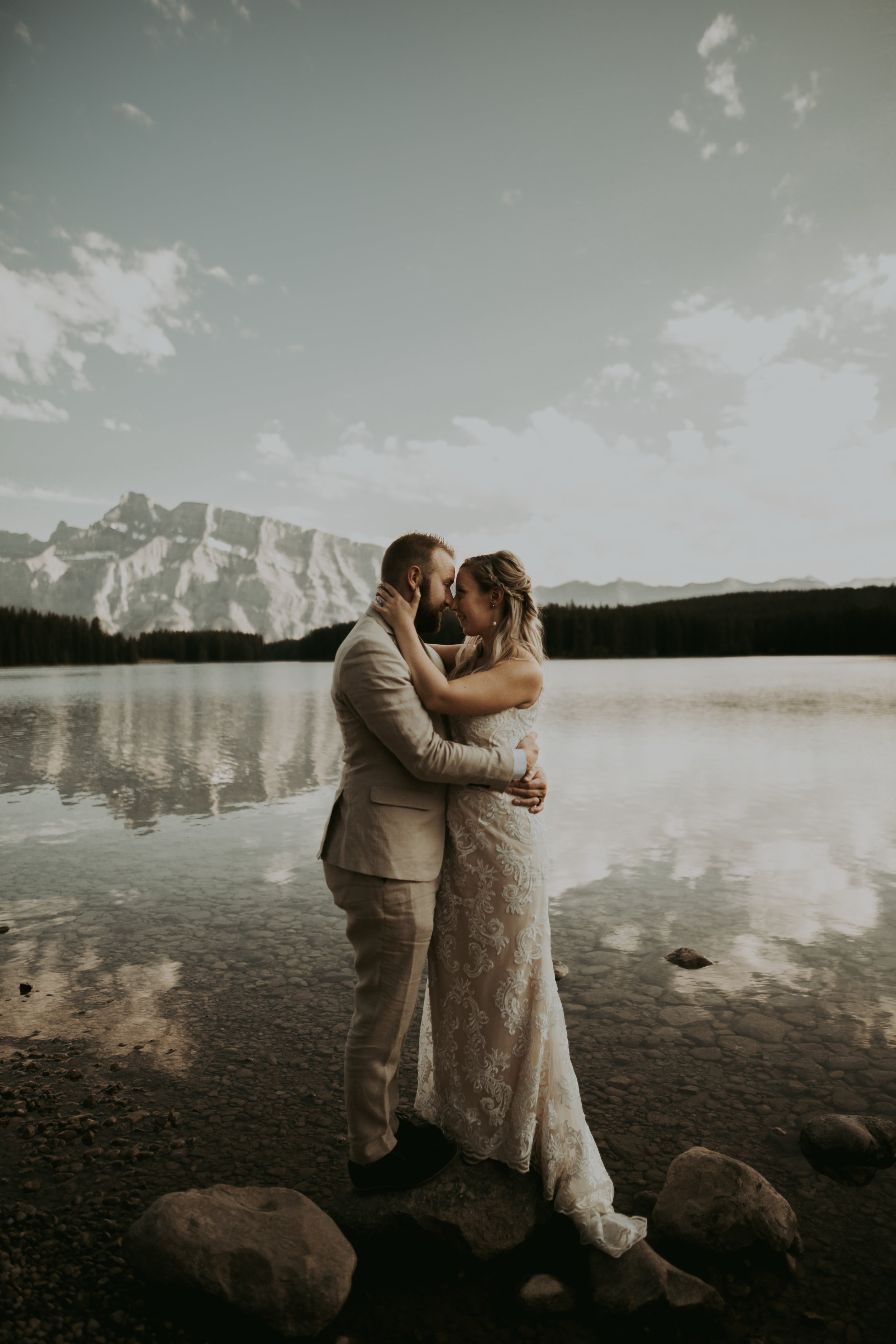 -Emerald Lake Elopement, Emerald Lake Lodge Photographer, Banff Elopement Photographer, Banff Photographer, Banff Elopement.jpg