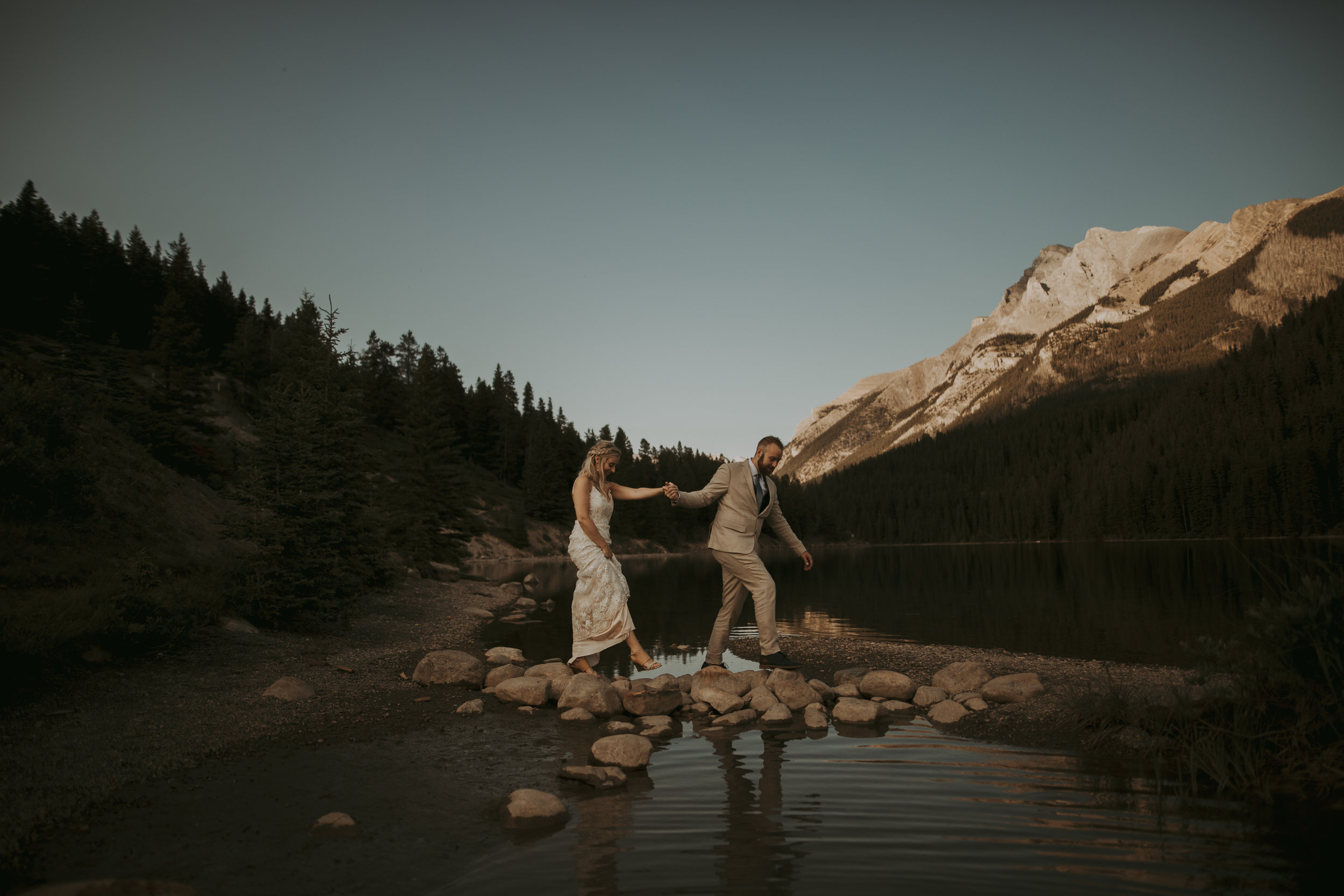 -Emerald Lake Elopement, Emerald Lake Lodge Photographer, Banff Elopement Photographer, Banff Photographer, Banff Elopement-2.jpg